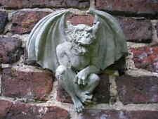 Wandgargoyle - hängender Gargoyle Steinfigur