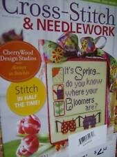 Cross Stitch & Needlework Magazine May 2011 Spring Ornament, Samplers- Bee, Hone