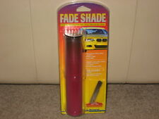 """NEW 8""""x6' FADE SHADE WINDOW TINT STRIP AUTO WINDSHIELD RED BUY 2 GET 1 FREE"""