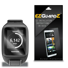 5X EZguardz Screen Protector Cover HD 5X For TomTom Spark Smartwatch