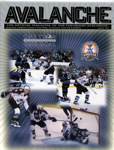 2 - Colorado  Analanche Programs one Stanley Cup Finals 2001 & 1 - 1999-2000