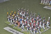 25mm napoleonic / french - infantry 36 figs - inf (18272)