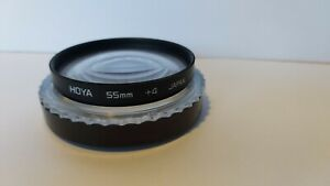 HOYA  55MM +4 filter with case.