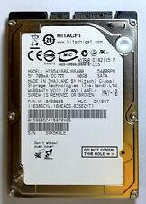 HTS541680J9SA00 PN 0A50685 MLC DA1587, Hitachi 80GB SATA 2.5 Hard Drive