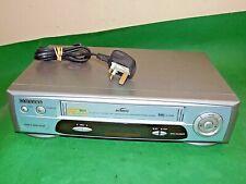 SAMSUNG SV-640B Video Cassette Recorder Player VHS Smart VCR Silver Blue Quality