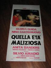 QUELL'ETA' MALIZIOSA, ,GLORIA GUIDA,LOCANDINA
