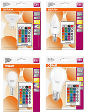 Osram LED Star Colour Changing Spotlight Bulb (RGBW) - Dimmable/Remote Control