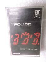 THE POLICE GHOST IN THE MACHINE   RARE orig CASSETTE TAPE INDIA indian