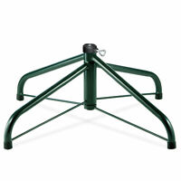 "National Tree Company 24"" Folding Tree Stand for 6 1/2' to 8' Trees w/ 1.25"" ..."