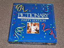 PICTIONARY -THE PARTY EDITION GAME - 1993 By PARKER - NEW (FREE UK P&P)