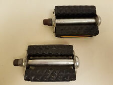 "Cecor Diamond Block Pedals...9/16""...Balloon Tire...Tank Bike...Cruiser..Bicycle"