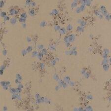 Emilia Floral Blossom Wallpaper Dark Gold - Rasch 501568