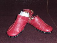 New Women's I Love Comfort Tropez Casual Clog Shoe 87258 Red 38I