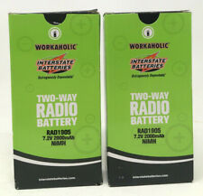 NEW - Workaholic Interstate Batteries Battery, Model: RAD1905 (Lot of 2)
