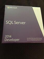 Microsoft SQL Server 2014 Developer, PRICE REDUCED!!