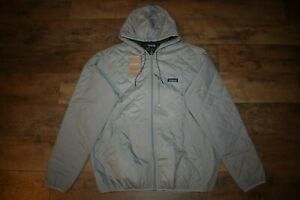Patagonia Men's Diamond Quilted Bomber Hoody 27610 Size XL (Salt Grey) NWT