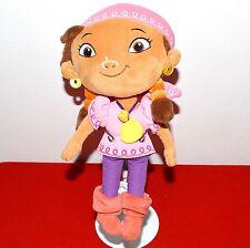 "Disney Parks Izzy 11.5"" Plush Doll Jake The NeverLand Pirates Toy Pixie Dust"