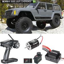 Axial AX90047 1/10 SCX10 II 2000 Jeep Cherokee 4x4 RTR w/ 2.4GHz Radio