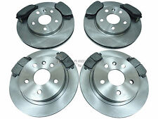 VAUXHALL INSIGNIA 1.8 16V 08-14 FRONT AND REAR BRAKE DISCS & PADS SET NEW