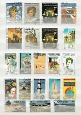 DJIBOUTI    - LOT OF 89  STAMPS -  4  IMAGES