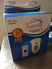 Wireless door bell Islamic Door Bell Wireless Digital Islamic Tones Xelent