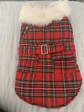Urban Pup Mcgregor Quilted Tartan Dog Coat