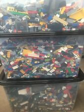 Lego 1 kg WASHED Bundle Joblot (1000g) Bricks,Parts,Pieces,FREE POLY BAG bargain