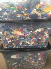 Lego 1 kg WASHED Bundle Joblot (1000g) Bricks,Parts,Pieces,FREE POLYBAG Read Inf
