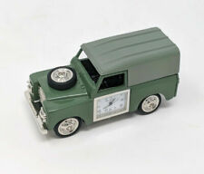 WM Widdop Miniature Clock 4 Wheel Drive Green Land Rover Design Novelty Gift 17
