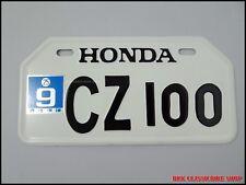 HONDA CZ100 CZ 100 MONKEYBIKE MINIBIKE  JAPANESE LICENSE PLATE( 210mm x 105mm )