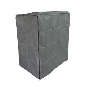 GreenGarden Premium Abdeckhaube Schutzhülle XL anthrazit 600D Oxford Polyester