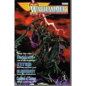 Warhammer Monthly #2 Games Workshop Black Library Comic Book 04/1998 Darkblade