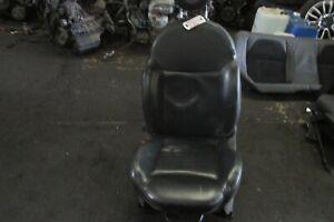 FIAT 500 S LEFT HAND PASSENGER FRONT BLACK LEATHER SEAT