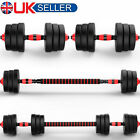 20/30Kg Dumbells Pair of Gym Weights Barbell/Dumbbell Body Building Free Weight