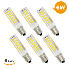 Super Brillant Ampoule LED E14 Lampe Economique 6W 550Lm Blanc Chaud Lot 6 ou 12