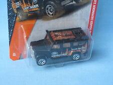 Matchbox Land Rover 110 Defender Black Toy Model Car 70mm 4x4 Explore USA BP