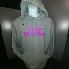 Nike Nationals EYBL Grey (with Fuchsia) Men's Hoodie **Brand New**-2XL