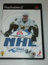 NHL 2001 EISHOCKEY MIT 30 NHL TEAMS & 20 INTERNATIONALE TEAMS PLAYSTATION 2 PS2