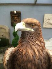 More details for eagle life size golden eagle garden sculpture big golden eagle goldie