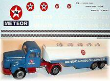 Scania 76 METEOR Huiles minérales Mannheim Semi-remorque de ravitallement 1:43