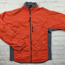 Mont Bell Montbell Climalight JACKET Clima Light Mens S Small Red Light Fleece