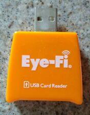 Eye-Fi USB Card Reader USB connection SD card reader MODEL: EYEFI-RDR-REV-F