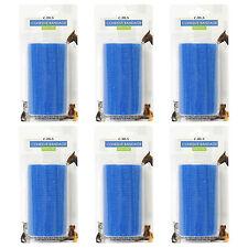 6x CMS medica blu autoadesivo elasticizzati coesa Bendaggio Supporto Wrap 10cm