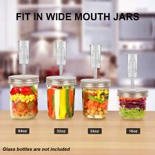 Mason Jar Fermentation Lid Premium Fermenting Lids Silicone Ring Airlock Kit