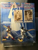 NEW~1997 Starting Lineup Classic Doubles Jackie Robinson And Larry Doby