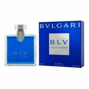 BVLGARI BLV Pour Homme 100ml EDT for Men Spray BRAND NEW Genuine Free Delivery