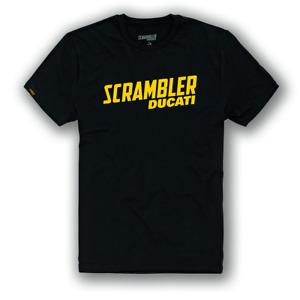 Ducati Scrambler SCR Milestone T-Shirt Black