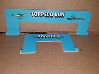 Carrier Strike!  Dogfight & Torpedo Run Ruler Measurement Tool MB 1977