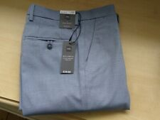 """BNWT Marks & Spencer """"Collection""""  Men's Blue Trousers Size 32W 33L"""