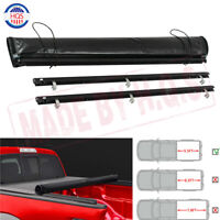 5.5FT Soft Roll-Up Truck  Tonneau Bed Cover For Ford F150 2015 2016 2017 2018